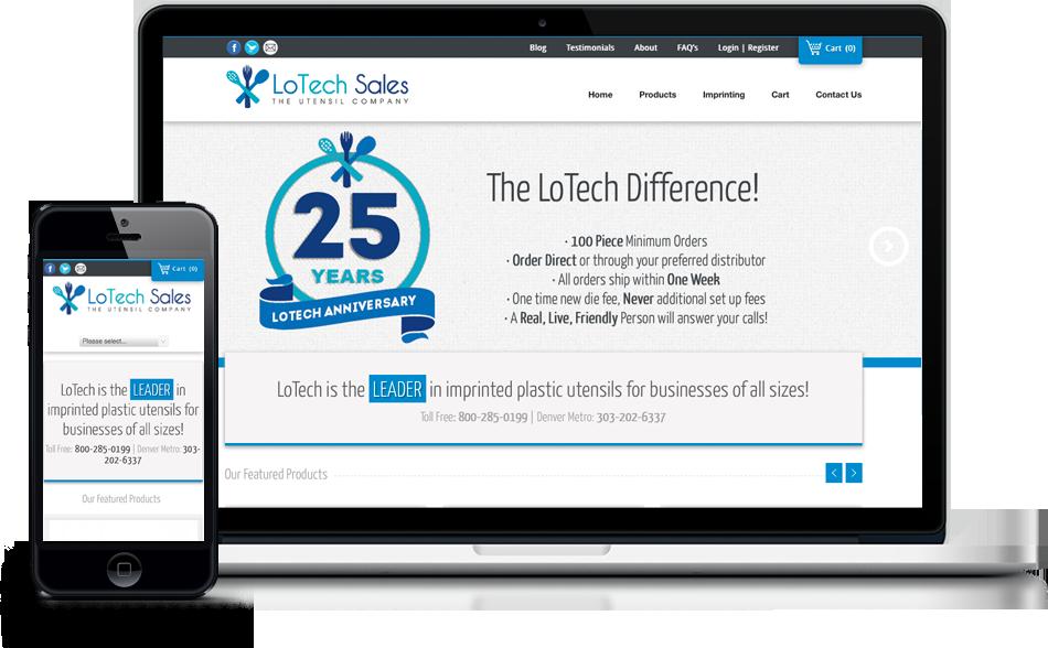 Responsive Website Design Parker, CO