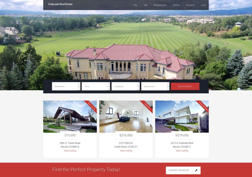 Denver wordpress design website design wordpress developer for Home design websites