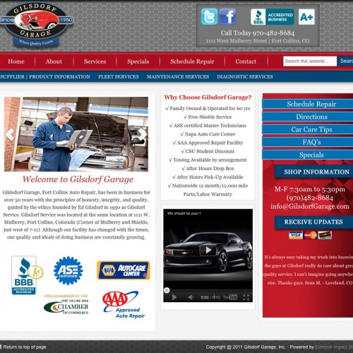 Denver Automotive Websites