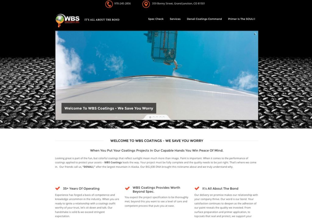 Denver WordPress Website Design